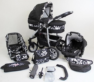 3-in-1-Kinderwagen von Amazon*