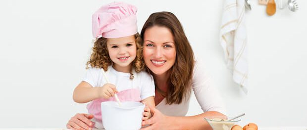 Backen mit Kindern | © panthermedia.net / Wavebreakmedia