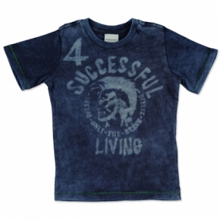 Diesel Boys Kids T-Shirt Teiny Slim